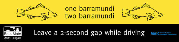 One barramundi, two barramundi